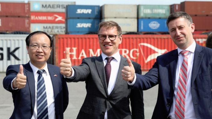 Latvia-China e-commerce hub Riga