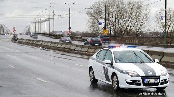 Latvia dangerous country drive